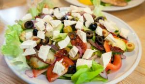 Seniors and Nutrition - Greek Salad - Opa!